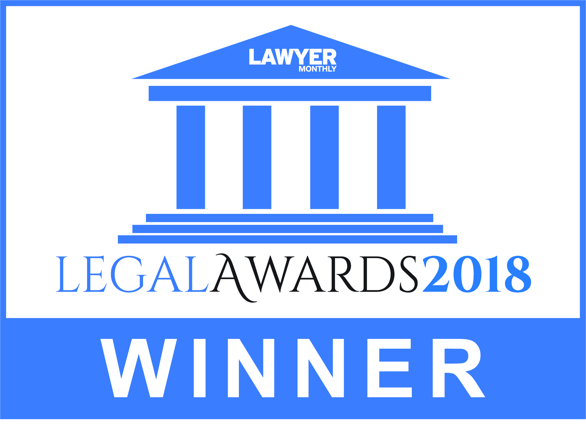 legal award winner logo